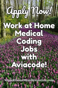 Medical Coding Jobs with Aviacode: Work at Home Opportunities