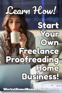start your own freelance proofreading home business