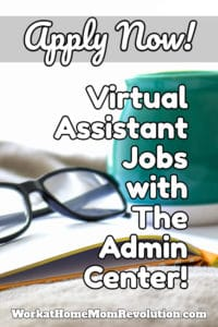 virtual assistant jobs with the admin center
