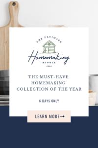 Ultimate Homemaking Bundle 2019 Pin