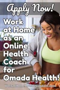 Work at Home: Omada Health Hiring Digital Health Coaches