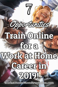Prepare for a Work at Home Career in 2019: 7 Opportunities!