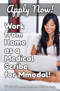 work from home medical scribe MModal