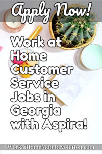 Work at Home Customer Support Agent Jobs with Aspira