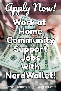 work at home community support jobs nerdwallet