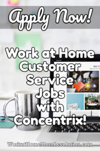 Concentrix Hiring Work at Home Customer Service Across U.S.
