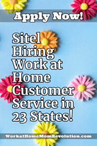 Home-Based Customer Service Jobs with Sitel