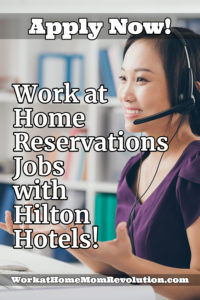 Home-Based Customer Service and Sales with Hilton