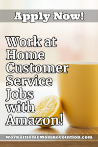 Amazon Hiring Seasonal Work at Home Customer Service Associates in U.S.