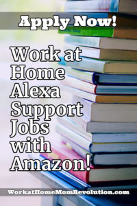 work at home alexa support jobs with Amazon