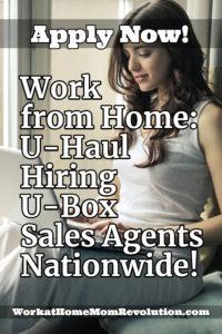 work at home u-haul