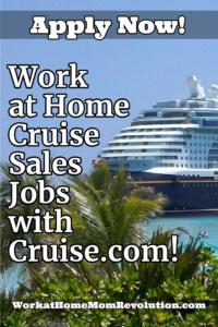 cruise sales jobs