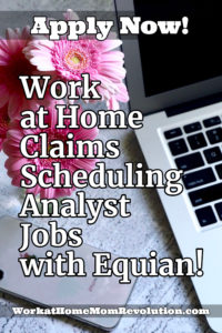 work at home claims scheduling analyst jobs with Equian