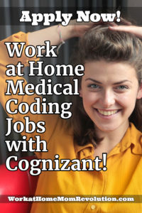 work at home medical coding jobs with Cognizant