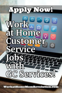 work at home phone customer service jobs GC Services