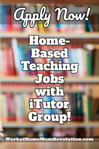 home-based teaching jobs with iTutor Group