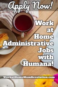 Work at Home Administrative Coordinator Jobs with Humana