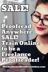 Proofread Anywhere Sale 4th