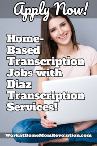 Home-Based Transcription Jobs with Diaz Transcription Services