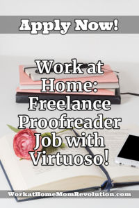 Freelance Proofreader Job with Virtuoso
