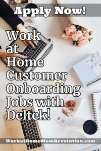 work at home customer onboarding specialist jobs with Deltek