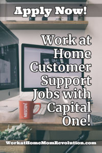 Home-Based Customer Support Jobs with Capital One