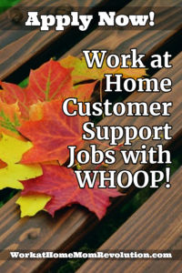 Home-Based Customer Support Jobs with WHOOP