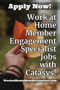 Home-Based Member Engagement Specialist Jobs with Catasys