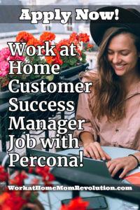 work at home customer success Percona