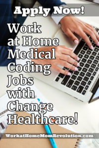 Change Healthcare is seeking work at home medical coders in most U.S. states. These appear to be full-time home-based medical coding opportunities.