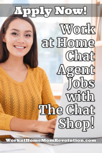 Work at Home Chat Agent Jobs with The Chat Shop