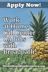 Work at Home QA Jobs Broadpath