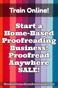 Home-Based Proofreading Business