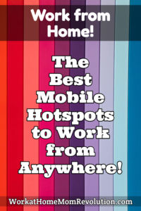 best mobile hotspots to work from anywhere