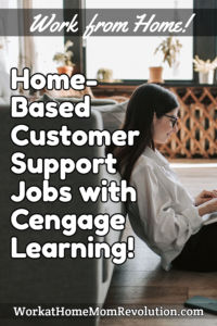 Home-Based Customer Support Jobs with Cengage Learning