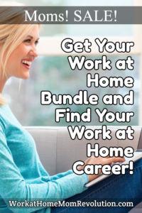 work at home bundle sale