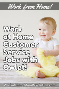 Work at Home Customer Service Jobs with VIPDesk and Owlet