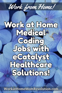 work at home medical coding jobs eCatalyst Healthcare Solutions