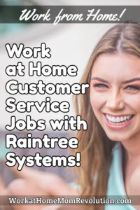 work at home customer support jobs Raintree Systems