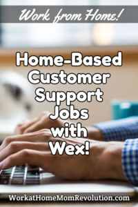 home-based customer support jobs Wex
