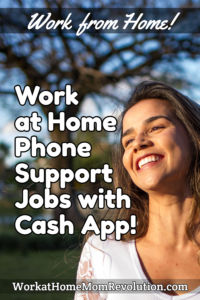 home-based phone support jobs Cash App