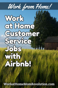 work at home customer service jobs Airbnb