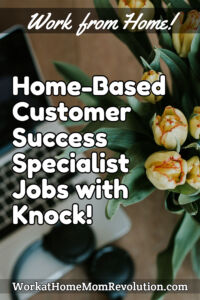 home-based customer success specialist jobs Knock