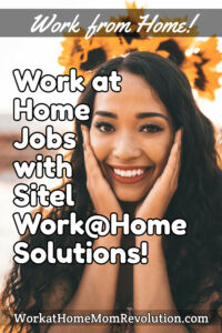 home-based jobs with Sitel Work@Home Solutions