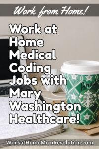 work at home medical coding jobs Mary Washington Healthcare