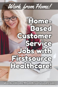 Home-Based Customer Service Jobs with Firstsource Healthcare