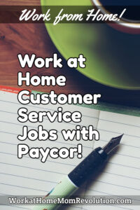 home-based customer service jobs with Paycor