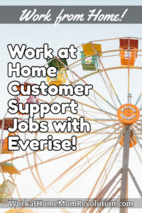 work at home customer support jobs Everise