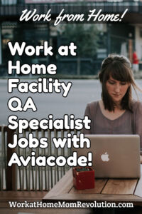 work at home facility qa specialist jobs with Aviacode