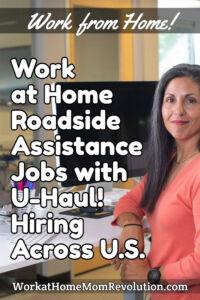 home-based roadside assistance jobs with U-Haul